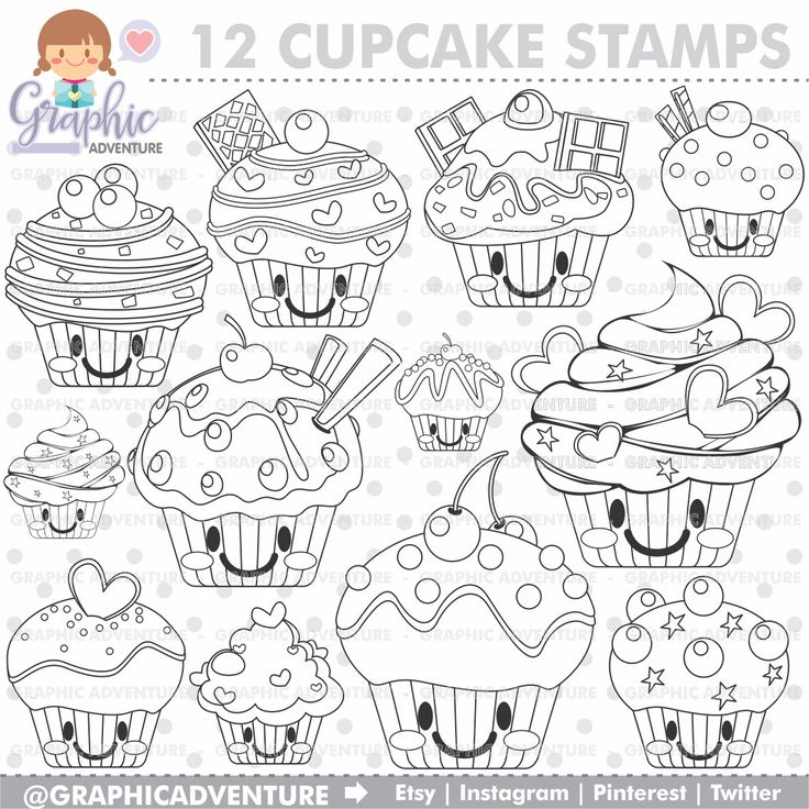 Best 25 Cupcake Clipart Ideas On Pinterest