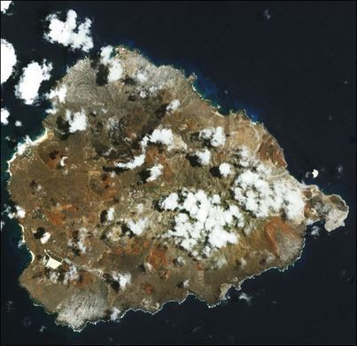 Ascension Island – Saint Helena - Located about 1/2 way between South America and Africa