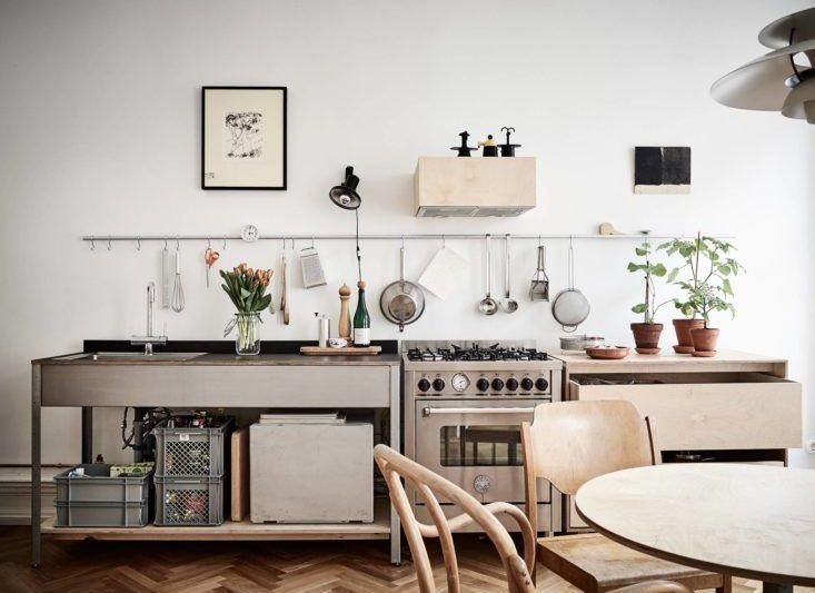 10 Organized Kitchens on a Budget, Thanks to Ikea's Grundtal Rail System - The Organized Home