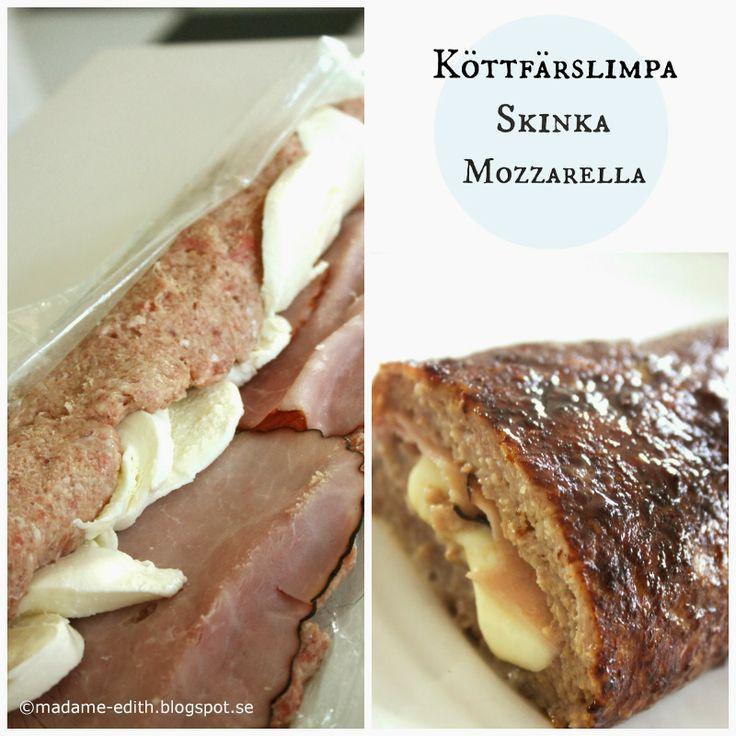 Madame Edith - Enkla recept och Klassisk inredning: Fylld köttfärslimpa
