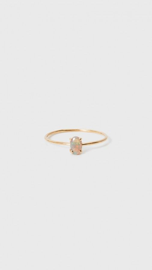 Loren Stewart Opal Ring in 14K Gold | The Dreslyn