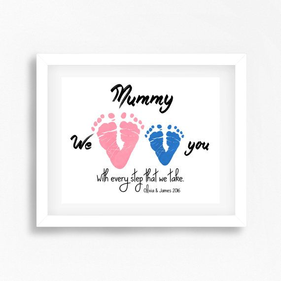 Personalised Gift for Mum New Mum Gift by PerfectLittlePrints