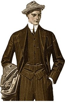 Victorian clothing - the vest under an open jacket would work well to get a steampunk look