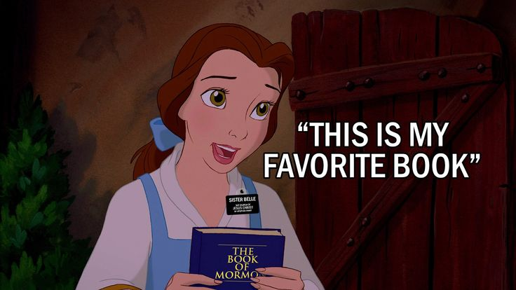 "Guess who's been called on a mission? Sister Belle loves The Book of Mormon: ""This is my favorite book"" - Mormonbuzzz.com"