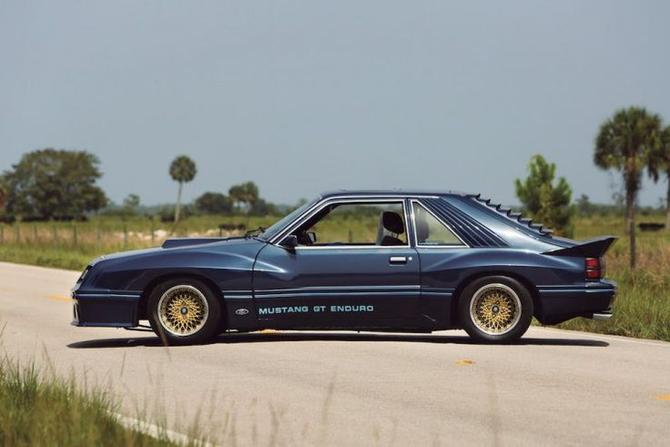 The 1982 Ford Mustang GT Enduro Prototype Coupe, quite possibly the foxiest Fox of all...