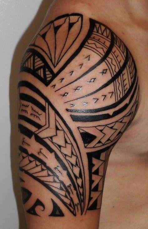 1000 images about tattoo ideas on pinterest tribal - Tatouage tribal epaule ...