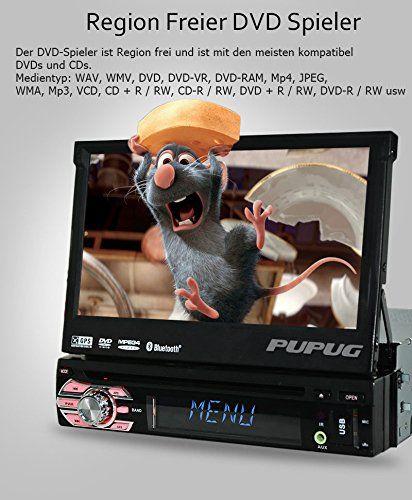 Sistema di Windows Eincar universale Autoradio Stereo singolo Stereo 1 baccano con 8GB GPS per auto navigatore satellitare lettore DVD in funzione del precipitare 7Inch Autoradio supporto stereo Bluetooth GPS / Navi / USB / SD / BT / controllo del volante / FM / AM RDS Ricevitore Headunit: Amazon.it: Elettronica