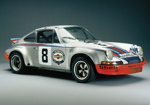 40th Anniversary of the 911 Carrera RS 2.7 brings out a couple of stunning examples (this is one of them).