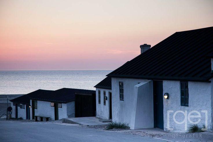 Nørre Vorupør - A beautiful evening at the danish West Coast.