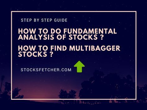 Learn how to do fundamental analysis of stocks in a step by step manner along with two secret strategies to find multibagger stocks.