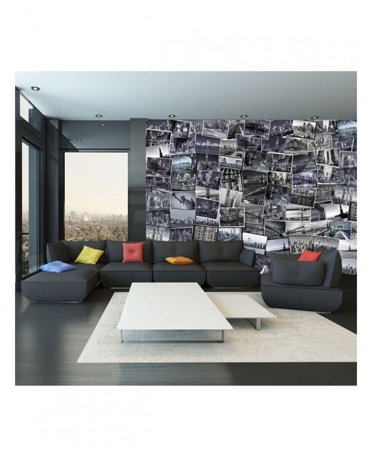 Create Your Own Fantastic Feature Wall, Completely Unique To You, With This  64 Piece Creative Collage Big Apple Designer Wall Mural!