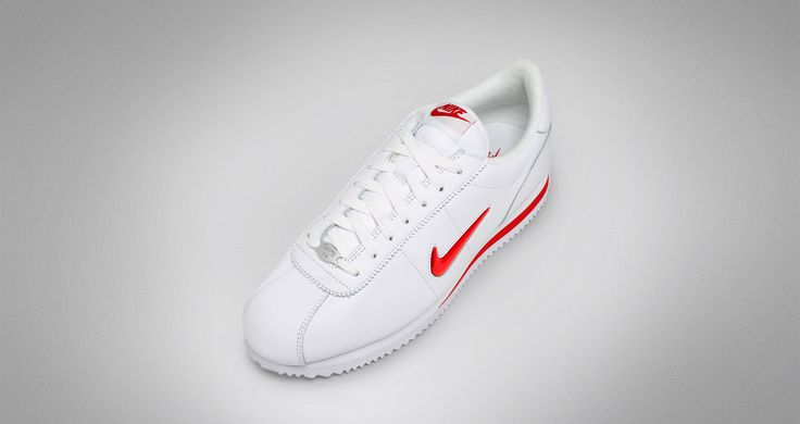 Release Date : June 1, 2017 Nike Cortez Jewel White / University Red #Nike #Lifestyle #Sneakers