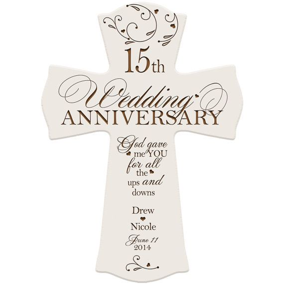 Personalized 15th Anniversary Gift for by DaySpringMilestones