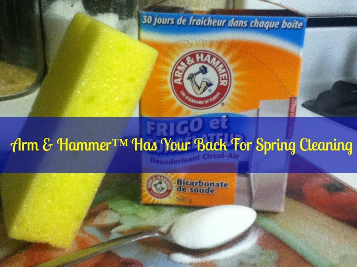 ArmHammer Arm & Hammer™ Has Your Back For Spring Cleaning