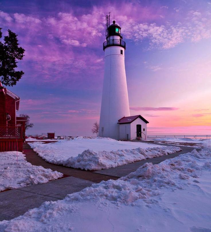 Light house - Port Huron, U.S. state of Michigan