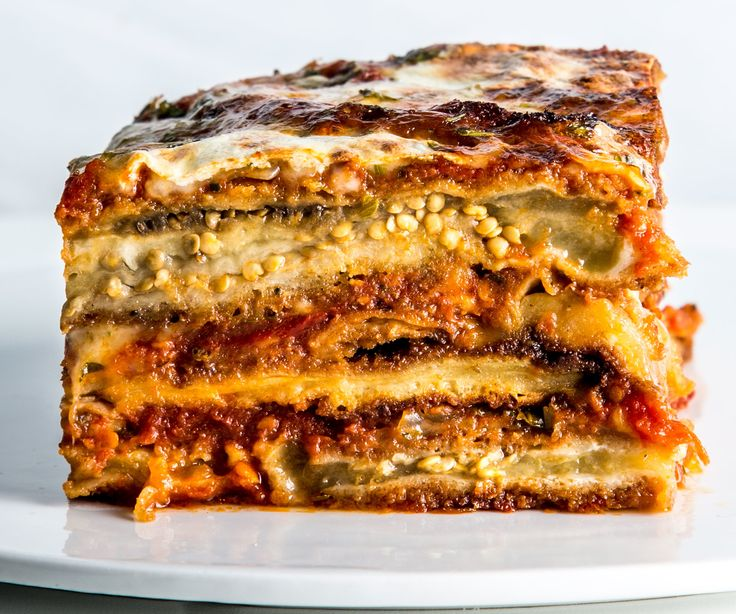 Trying to slice into this eggplant Parmesan while it's molten hot creates an oozy mess, so let it rest at room temperature for at least 30 minutes to firm up before serving. This is part of BA's Best, a collection of our essential recipes.