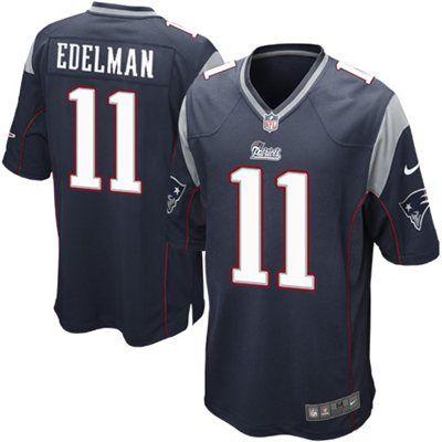 ... Limited Jersey Mens Nike New England Patriots 11 Julian Edelman Elite  White NFL Jersey Nike Julian Edelman New England Patriots Youth Navy Blue  Team ... 35d460a6f