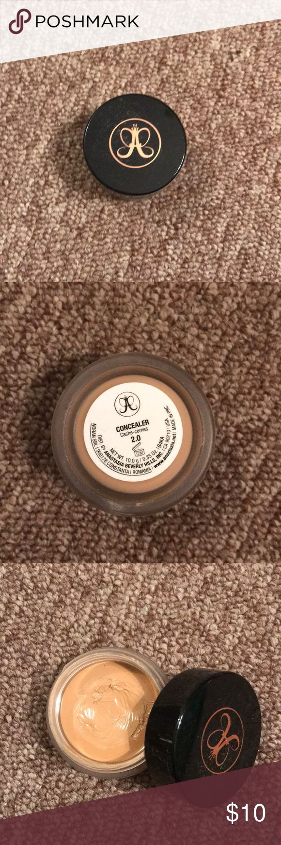 Gently used Anastasia Beverly Hills concealer. Shade 2.0 Anastasia Beverly Hills Makeup Concealer