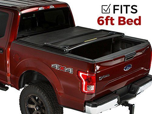 Gator Tri-Fold Tonneau Truck Bed Cover Chevy Coloardo  GMC Canyon  2015-2017 6 ft Bed 59113. For product info go to:  https://www.caraccessoriesonlinemarket.com/gator-tri-fold-tonneau-truck-bed-cover-chevy-coloardo-gmc-canyon-2015-2017-6-ft-bed-59113/