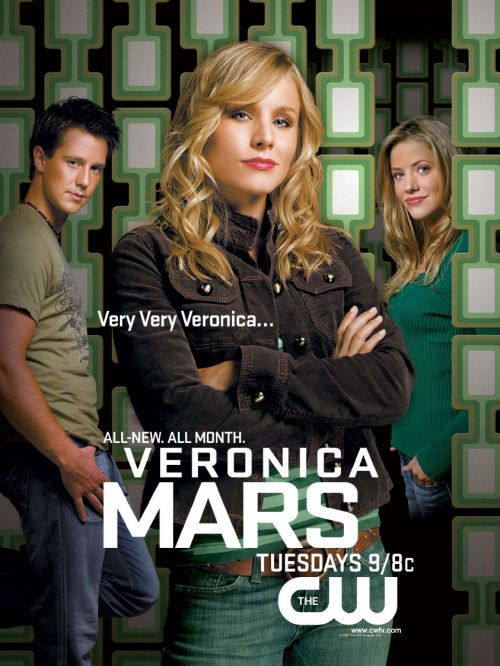 Veronica Mars.... Miss this show.... But have it on DvD so it's ok