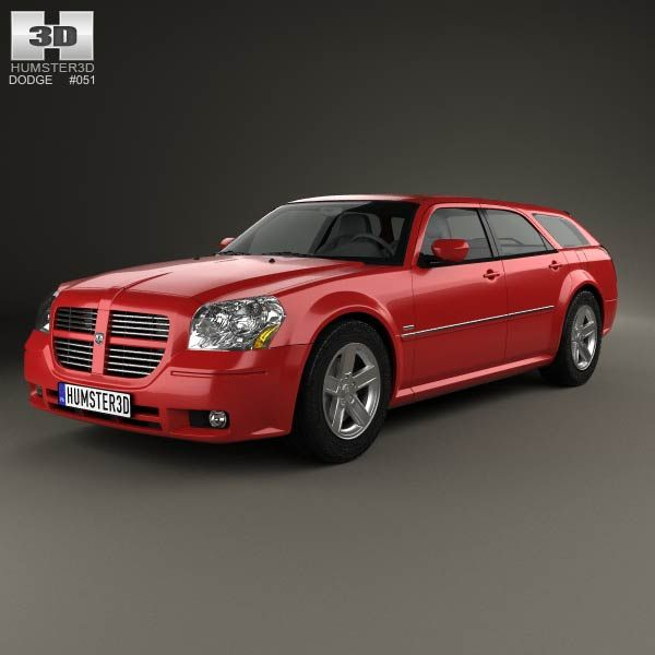 Dodge Magnum RT 2004 3d model from humster3d.com. Price: $75