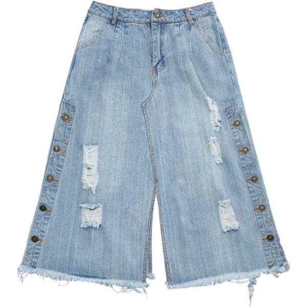 Best 25  Denim capris ideas on Pinterest   Jean capri outfits ...