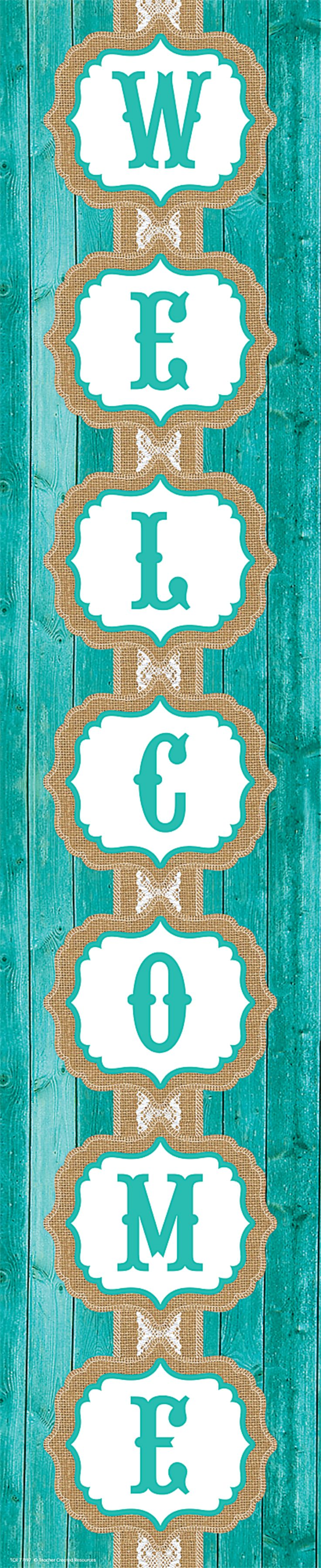 Shabby Chic Welcome Banner Image