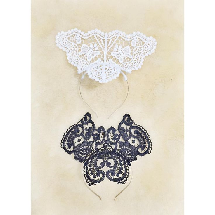 Handmade lace crowns / fascinators by Alea Headpieces. Shop what's available online x