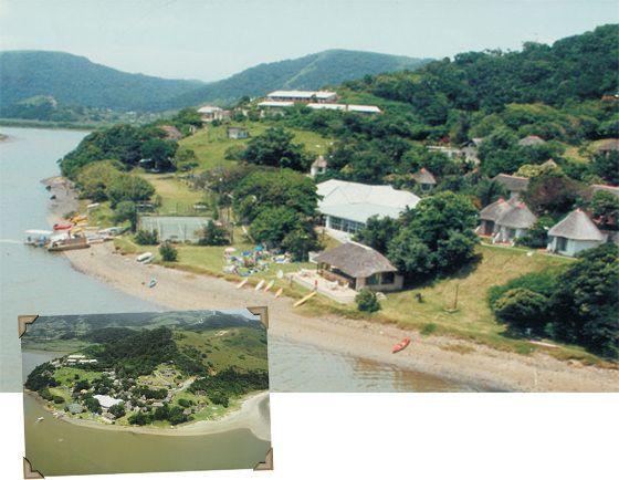 1994 Umngazi History Image.  Umngazi River Bungalows and Spa - Award-winning family resort and spa - Wild Coast, Eastern Cape, South Africa