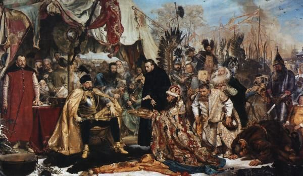 Stefan Batory at Pskov