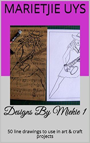 A Pretty Talent Blog: Miekie's Designs for Art & Craft Projects Published In a Book
