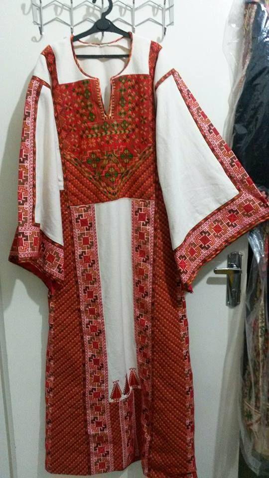 تطريز فلاحي فلسطيني ثوب