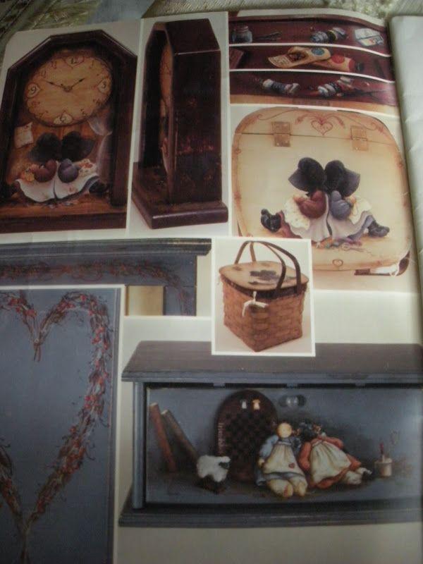artist jennifer atkinson | Jennifer Atkinson's Folkart-Decorative Painting Affair