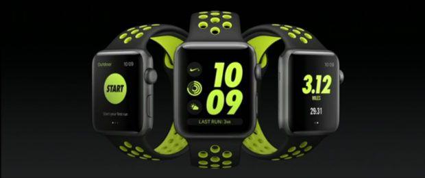 Die neue Apple Watch Series 2 mit dem Nike+ Armband und der passenden App