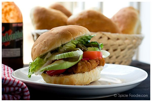 Tortas de Milanesa or Pork Cutlet Sandwiches
