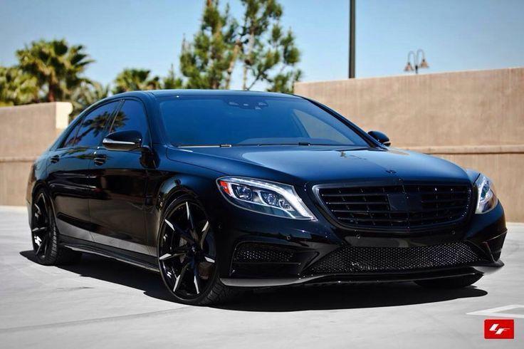 All blacked out Mercedesbenz S class Mercedes benz cls