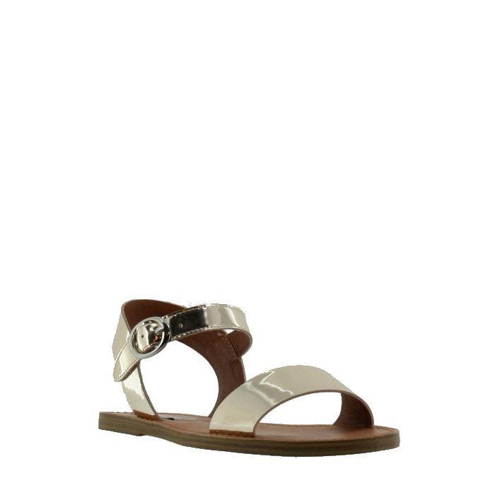 Donddi-M Sandale Or Métallique - Sandales Plates - Sandales - Femme