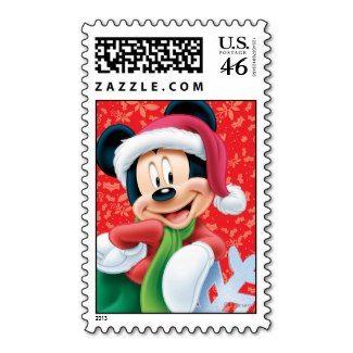 Mickey Festive Christmas Stamps #Disney