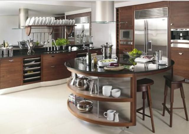 11 Modern Kitchens That Help You Update Your Own Space: Modern Doesn't Always Mean Straight Lines and Planes
