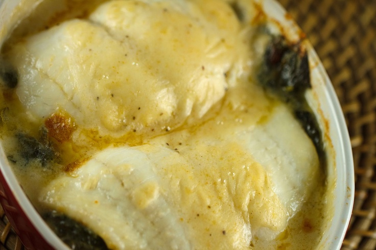 Stuffed Flounder Florentine and Enstrom's Toffee | A Culinary ...