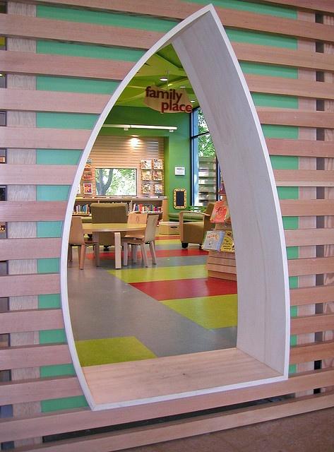 Childrens Room Entrance By San Jos Library Via Flickr DecorationsArchitecture Interior DesignSchool