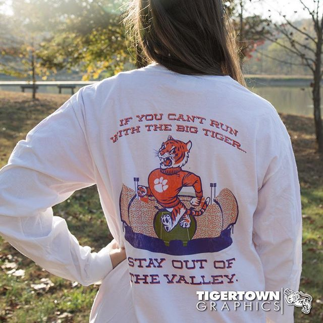 Hey TIGERS! This week, we'll be giving away a different shirt every day to get ready for the game this weekend against USC! Today we're giving away this 'Stay Out of the Valley' shirt! LIKE, and TAG 3 friends in the comments for your chance to WIN!