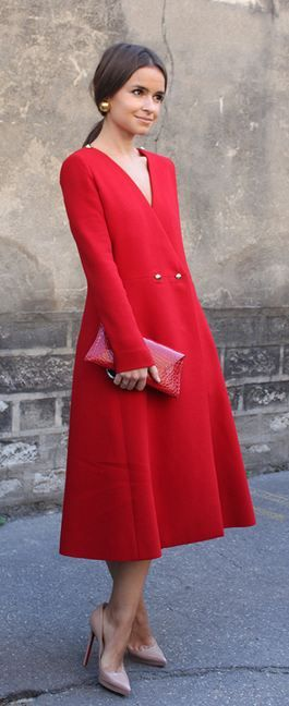 Best 25  Coat dress ideas on Pinterest | Ladies coat design, Coat ...