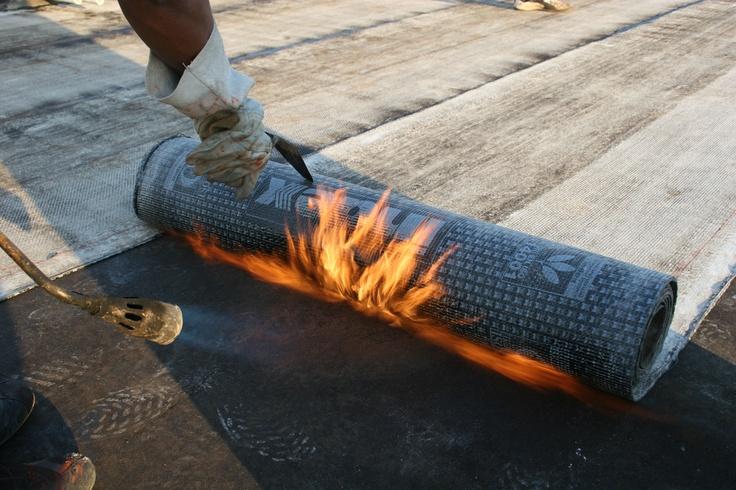 SBS Waterproofing Torch-On