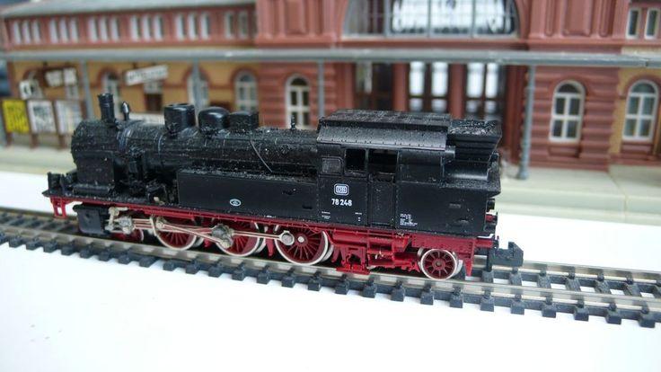 Fleischmann 7078 Spur N Tenderlok BR 78 DB 78246 guter Zustand