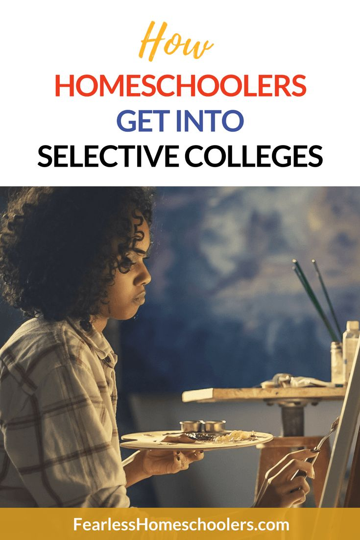 how to get into selective schools