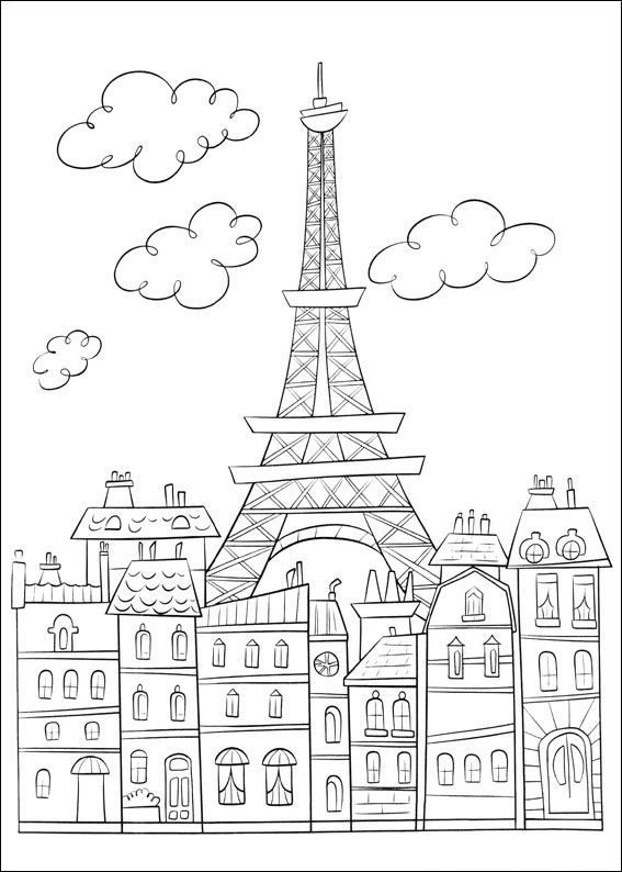 coloring page Ratatouille Kids-n-Fun
