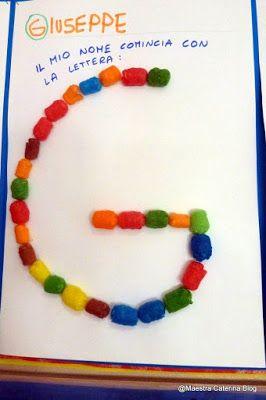 Maestra Caterina: Riconosco le lettere