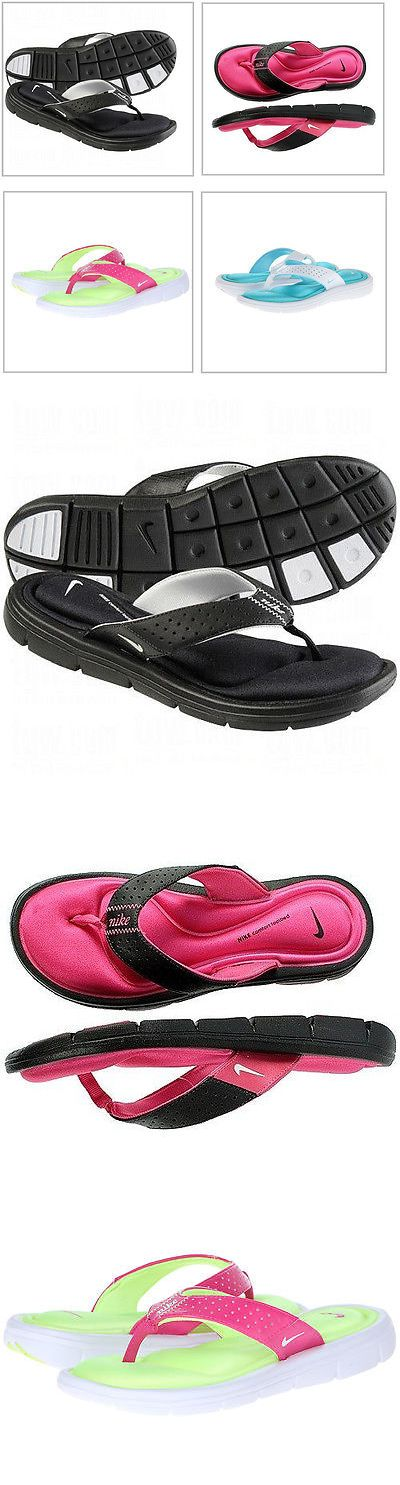 Women Shoes: New Nike Comfort Thong Womens Sandals, Size: 6, 7, 8, 9, 10,11 BUY IT NOW ONLY: $32.5