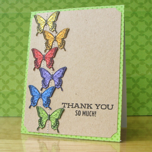 17 Best Images About Handmade Thank You Cards On Pinterest